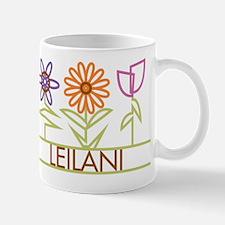 Leilani with cute flowers Mug