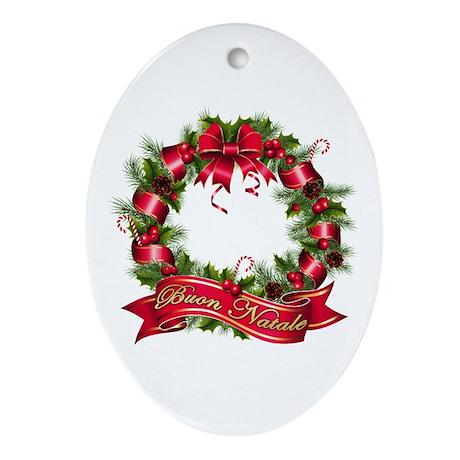 Buon natale Ornament (Oval)