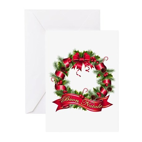 Buon natale Greeting Cards (Pk of 20)