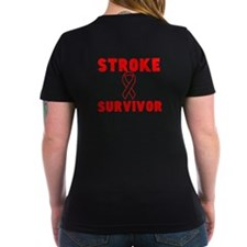 Stroke Survivor with Ribbon- Shirt