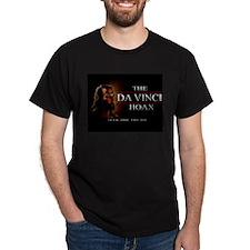 Da Vinci Hoax Black T-Shirt