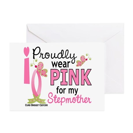 I Wear Pink 27 Breast Cancer Greeting Cards (Pk of