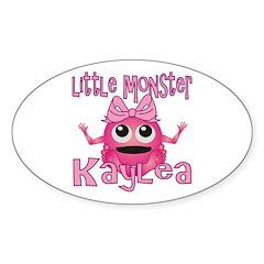 Little Monster Kaylea Decal
