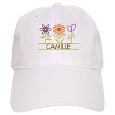 Camille with cute flowers Hat