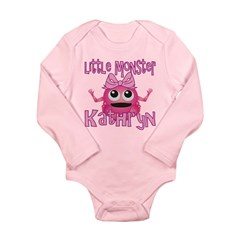 Little Monster Kathryn Long Sleeve Infant Bodysuit