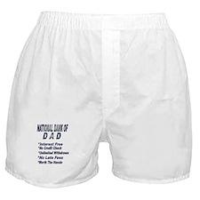 National Bank of Dad Boxer Shorts