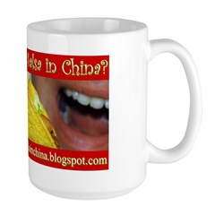 Salsa In China Mug