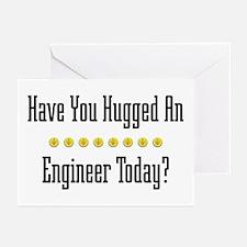 Hugged Engineer Greeting Cards (Pk of 10)