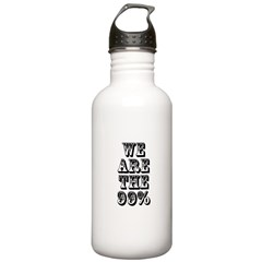 We are the 99% Water Bottle