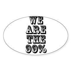 We are the 99% Decal