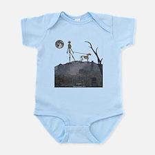 walk in the cemetery Infant Bodysuit