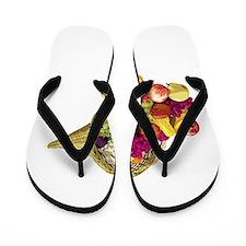 Cornucopia Flip Flops