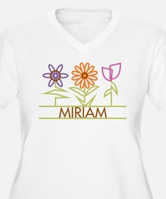 Miriam with cute flowers T-Shirt