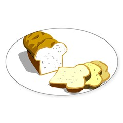 Bread loaf Decal