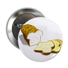 "Bread loaf 2.25"" Button (10 pack)"