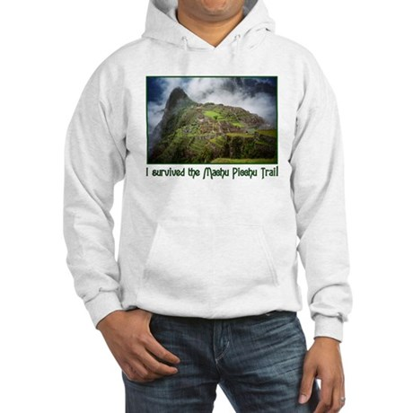 I survived the Machu Picchu T Hooded Sweatshirt