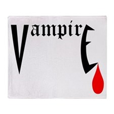 Vampire Throw Blanket