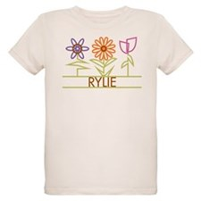Rylie with cute flowers T-Shirt