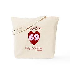 Bad Ass Bingo 69 Tote Bag