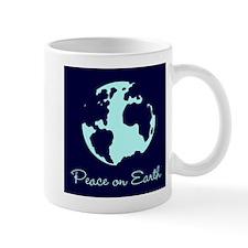 Peace on Earth (navy) Mug