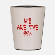 We are the 99% Shot Glass