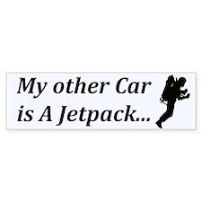 JETPACK Car Sticker