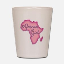 Cute Senegal girl Shot Glass