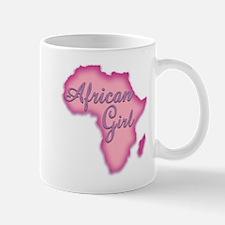 African Girl Mugs