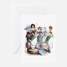 The Florist Greeting Card
