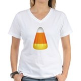 Candy corn Womens V-Neck T-shirts