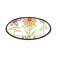 Ayla with cute flowers Patches