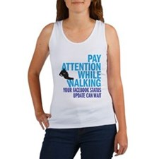 Pay Attention Women's Tank Top