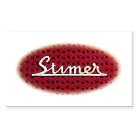 Stimer Rectangle Sticker