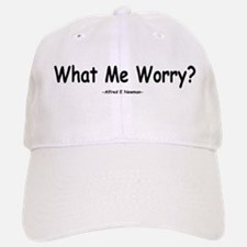 What Me Worry? Baseball Baseball Cap