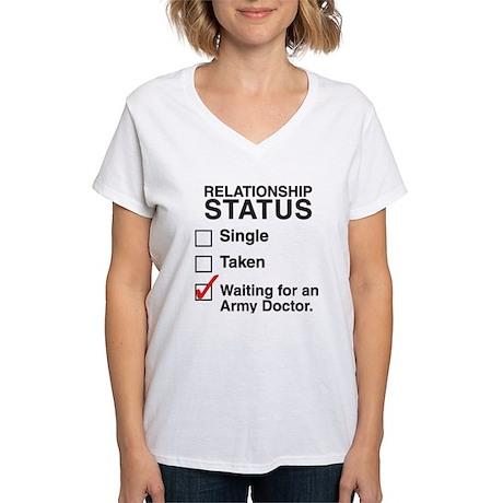 Watson Relationship Status Women's V-Neck T-Shirt