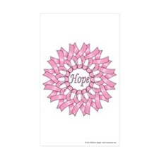 Circle of Hope Sticker (Rectangle 50 pk)
