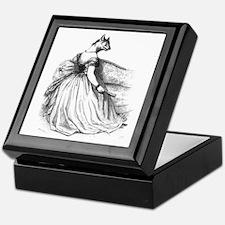 Mademoiselle Wolf Keepsake Box