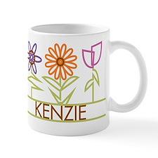 Kenzie with cute flowers Mug