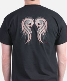 Angel WingT-Shirt with Tribal Accents