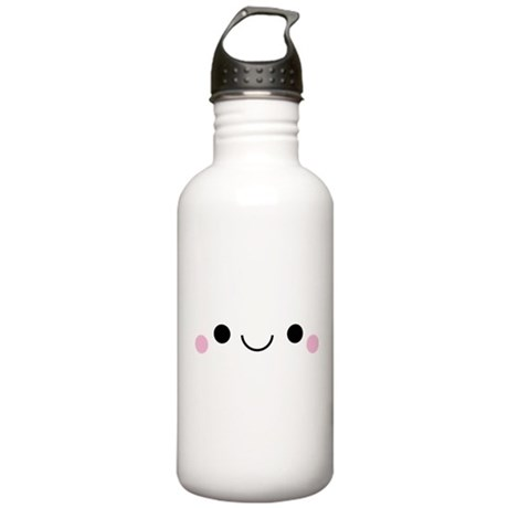Happy Smile Stainless Water Bottle 1.0L