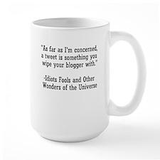 Wipe your Blogger Mug