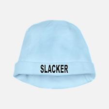 Slacker baby hat