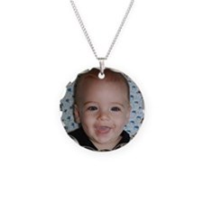 Nathan Seven Months Old Necklace Circle Charm