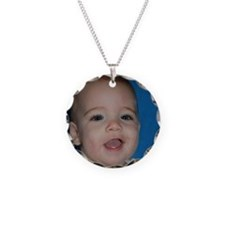 Nathan Eight Months Old Necklace Circle Charm