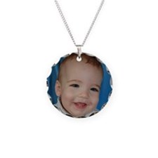 Nathan Ten Months Old Necklace Circle Charm