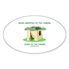 Sukkah Happenings Decal