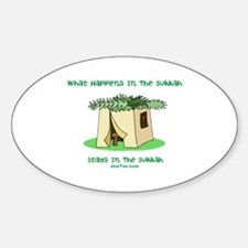 Sukkah Happenings Sticker (Oval)