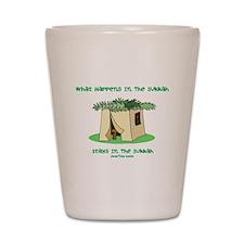 Sukkah Happenings Shot Glass