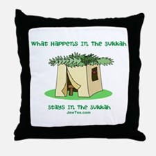 Sukkah Happenings Throw Pillow