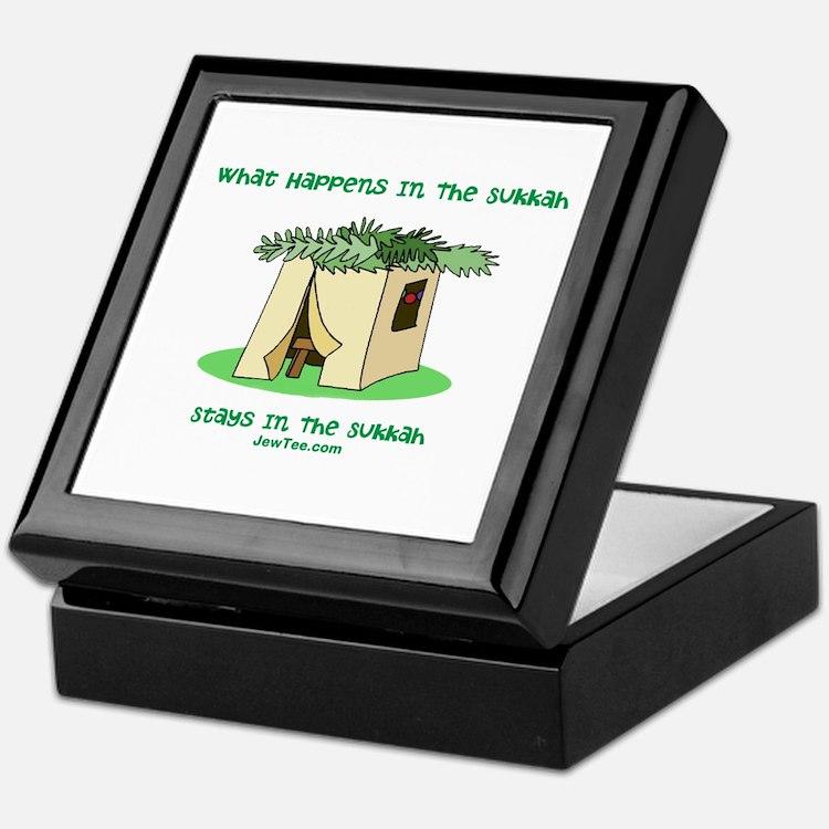 Sukkah Happenings Keepsake Box